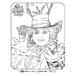 Alice Through The Looking Glass Activity and Coloring Sheets