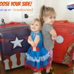 Choose Your Side with Marvel American Tourister Luggage: Team Cap or Team Iron Man?