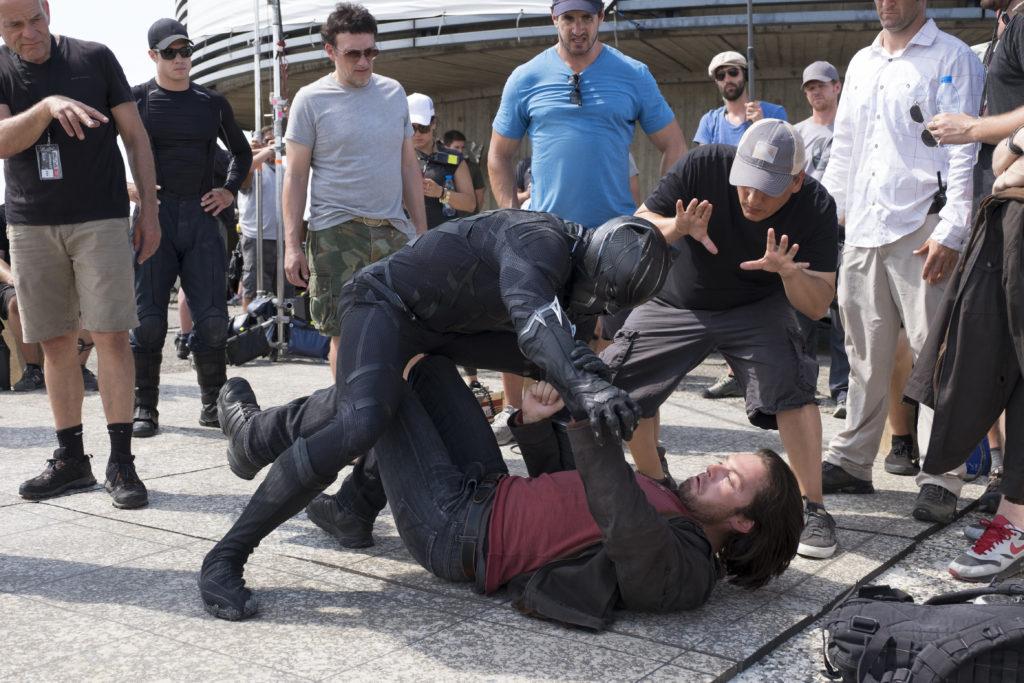 Directing Captain America Civil War