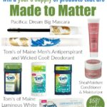 Year's Supply of Made to Matter Products #Giveaway