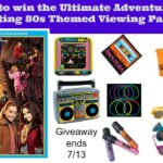 Watch #AdventuresInBabysitting in Style: Win an 80s Themed Viewing Kit | #Giveaway