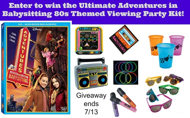 Adventures in Babysitting Giveaway Featured