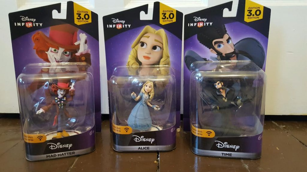 Alice Through the Looking Glass Disney Infinity in Box