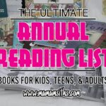 The Ultimate Annual Reading List | #TwoBlogsFunGuides #Reading