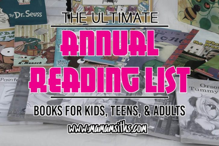 Annual Reading List