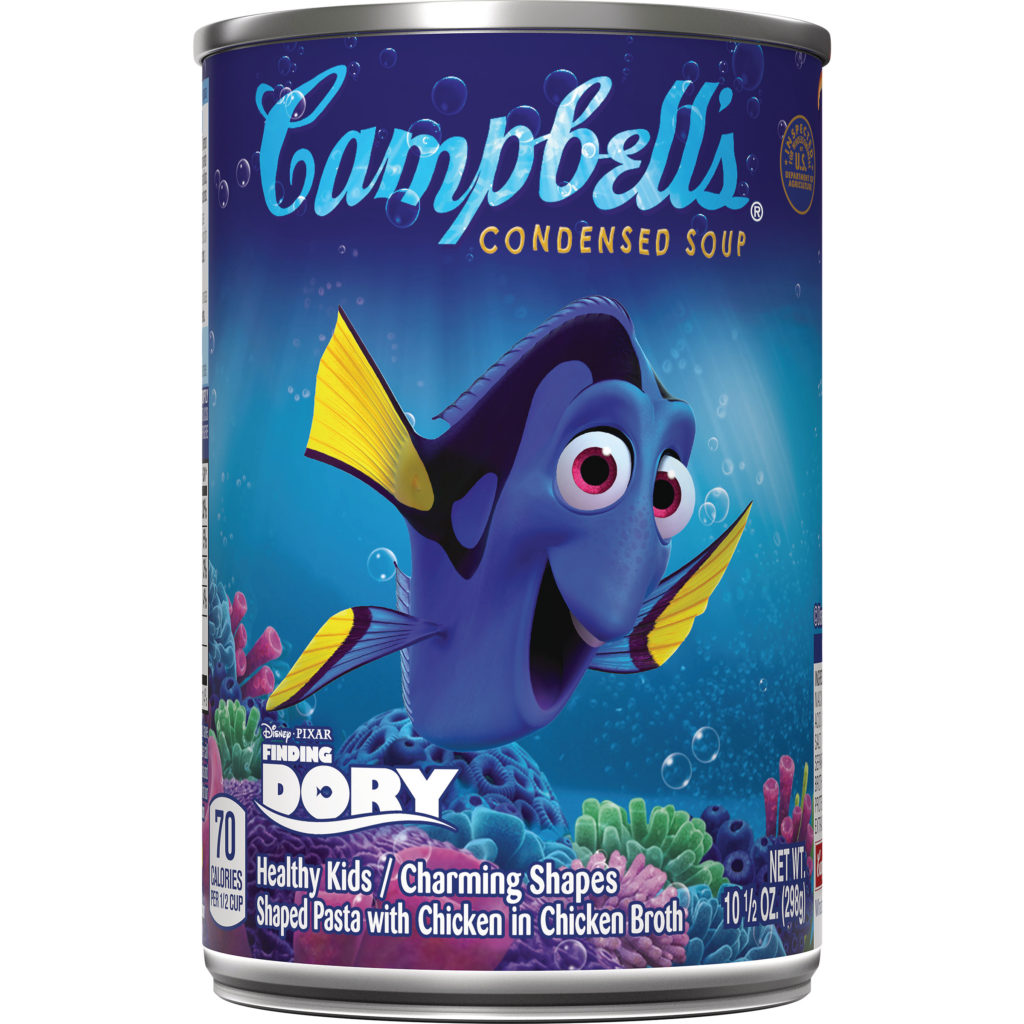 Dory Campbells Soup