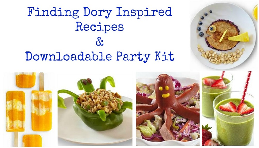 Finding Dory Recipes & Party Kit