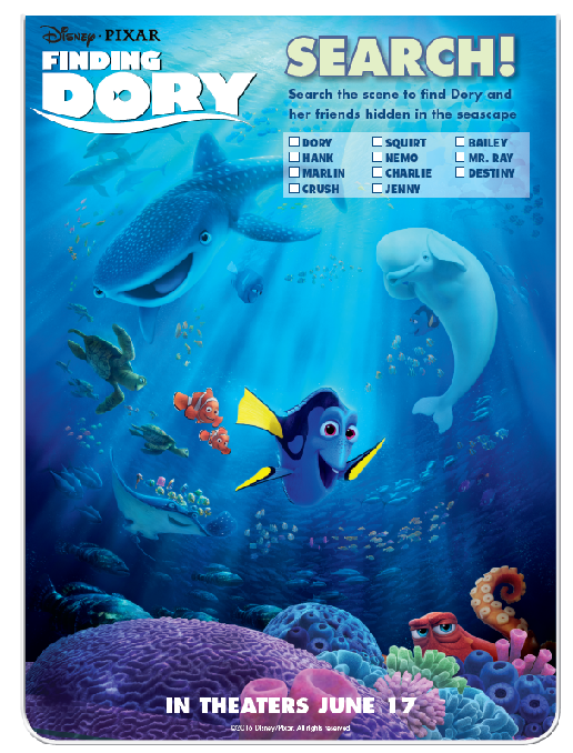 Finding Dory Search the Scene