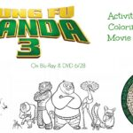 Kung Fu Panda 3 Viewing Party Tips, Activity Sheets, & More | #KungFuPanda3 #KFP3BlockParty