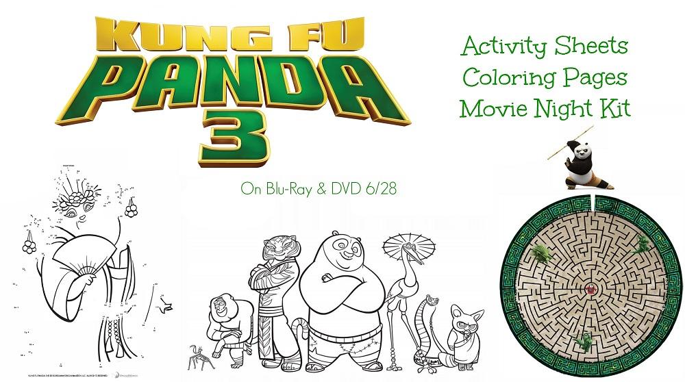 Kung Fu Panda 3 Printables