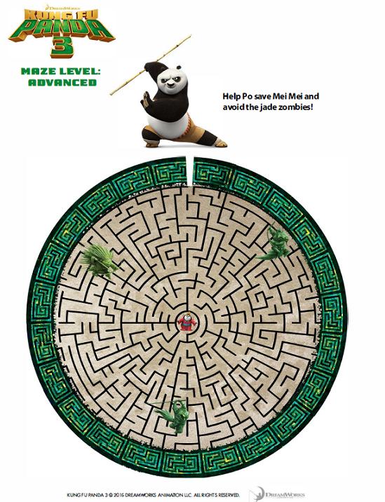 KungFuPanda3_Maze