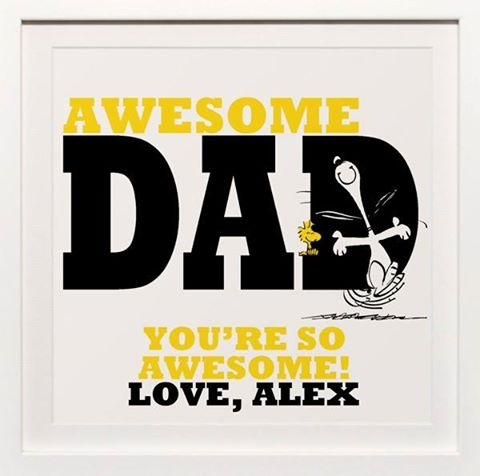 Peanuts Fathers Day
