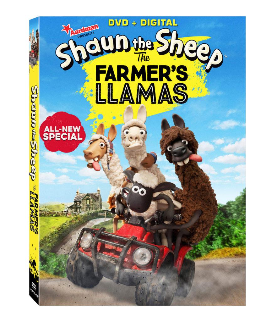 Shaun the Sheep FARMERS LLAMAS