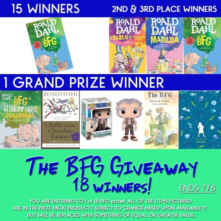 The BFG Giveaway