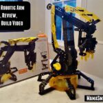 VEX Robotics Robotic Arm: Unboxing, Review, & Time Lapse Build Video | @HexBug @BestBuy #TechToys #STEM