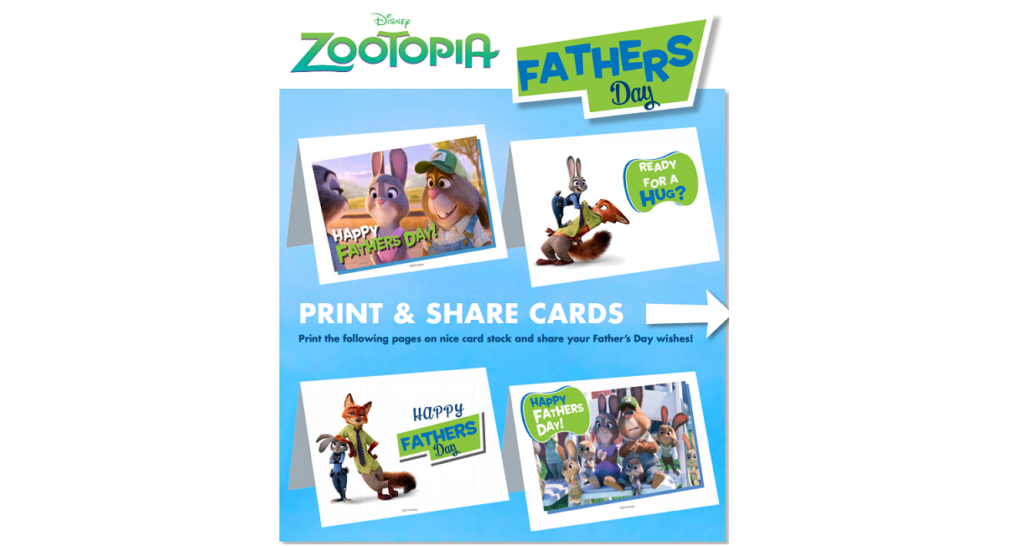 Zootopia cards