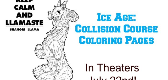 Ice Age: Collision Course Trailer & Free Coloring Pages | #IceAge ...