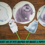 5 DIY Masks & Puppets Inspired By The Secret Life Of Pets | #PetCrafts #Craft #DIY #TheSecretLifeOfPets