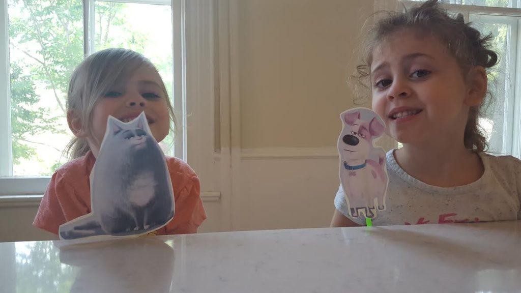 Secret Life of Pets Puppets