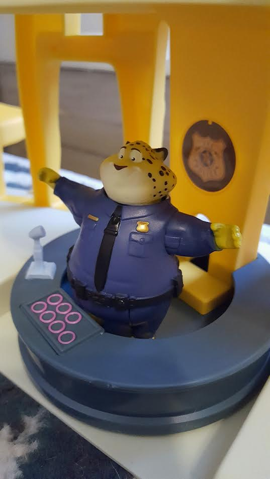 Zootopia Police Station Playset