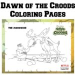 Dawn of the Croods Printable Coloring Pages