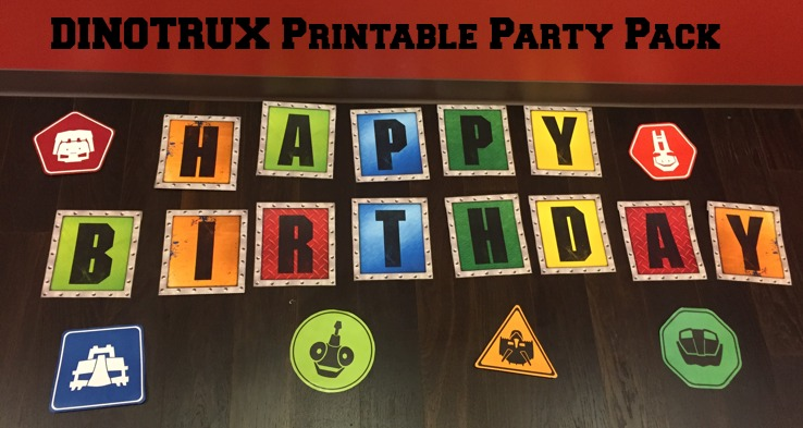 Dinotrux Party Pack