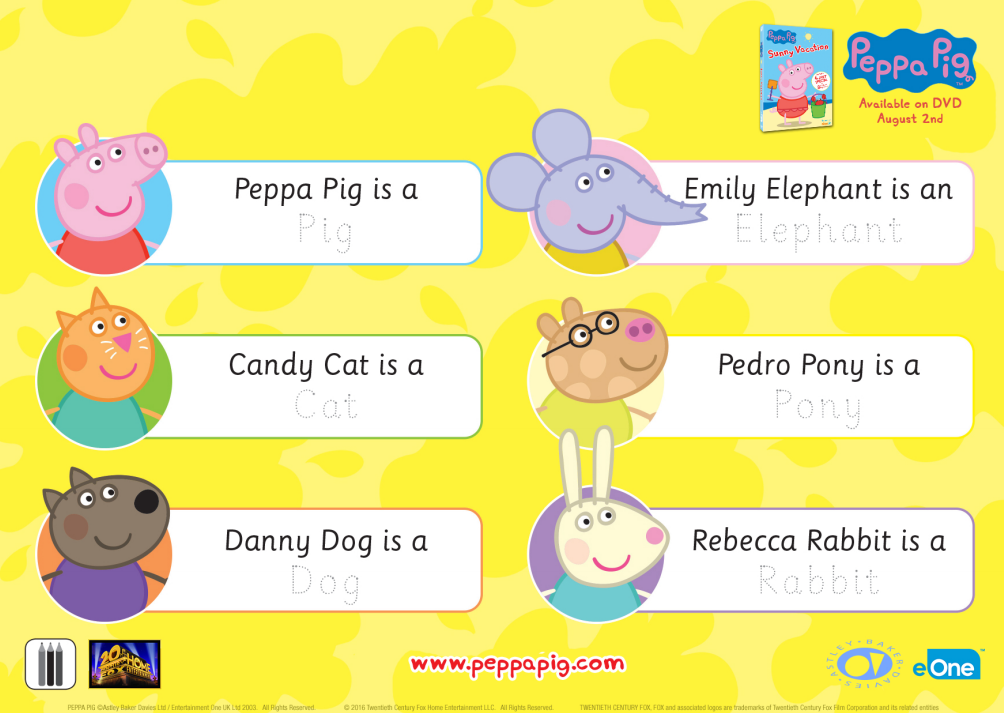 Back to School Tips & Activities from Peppa Pig | Mama's Geeky