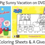 Celebrate Summer with Peppa Pig's Sunny Vacation DVD 8/2 | #PeppaPigDVD #Giveaway
