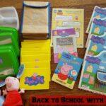 Back to School Tips & Activities from Peppa Pig + Pack Up For School Fun | #PeppaPacks #PeppaPigDVD