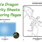 Disney's Pete's Dragon Free Family Acitivites & Coloring Pages | #PetesDragon #ColoringPages