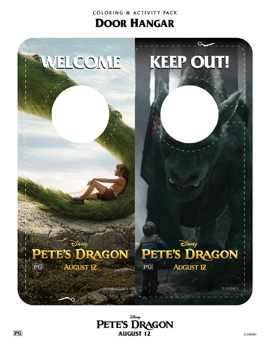 Petes Dragon Door Hanger