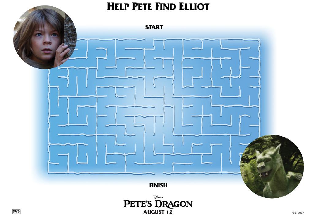 Petes Dragon Maze