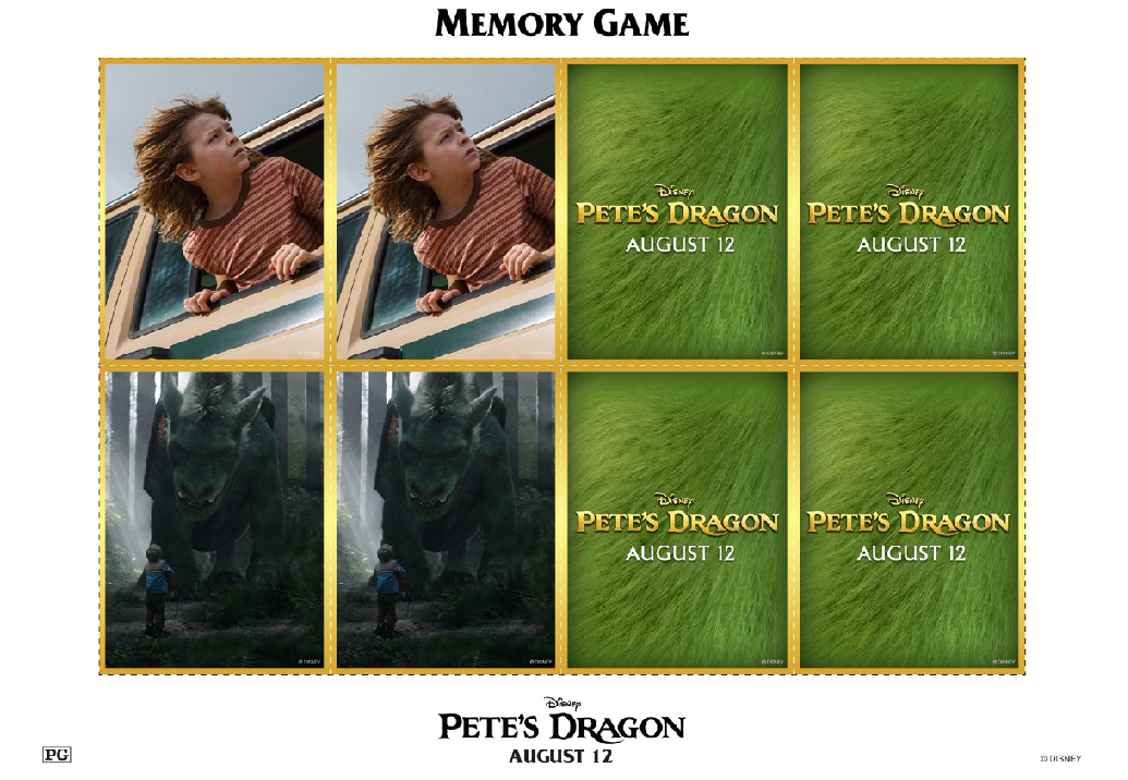 Petes Dragon Memory