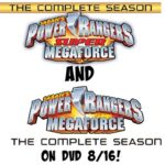 Power Rangers MegaForce & Super MegaForce Complete Seasons on DVD 8/16 | #PowerRangers