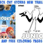Storks Free Printable Coloring Pages & Activity Sheets