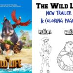 The Wild Life Free Printable Coloring Pages