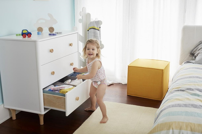 Pampers Easy Ups Underwear Drawer
