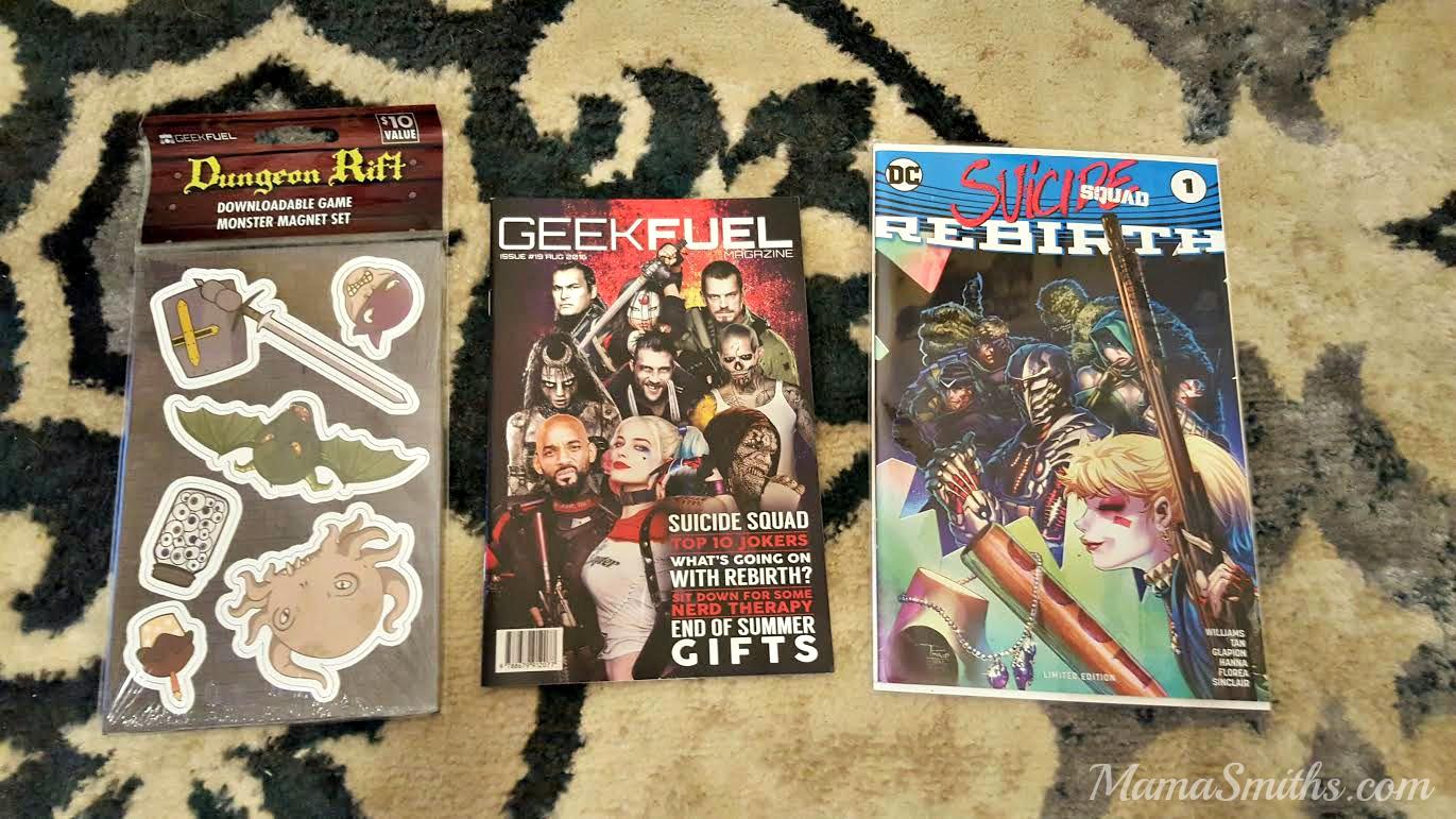 August 2016 Geek Fuel 2