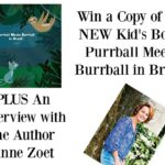 An Interview with the Author of Purrball Meets Burrball in Brazil | #PurballMeetsBurrball #Giveaway