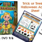 Trick or Treaters FREE Halloween Activity Sheet – On DVD & Blu-Ray 9/6 | #TrickOrTreaters #Halloween