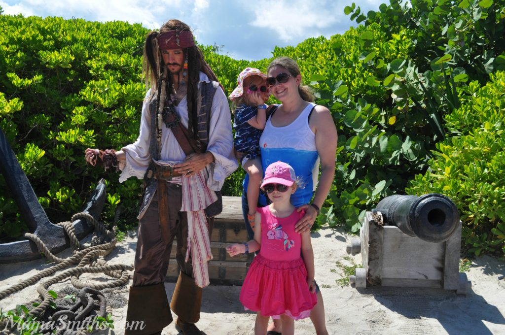 Captain Jack Sparrow Disney Cruise