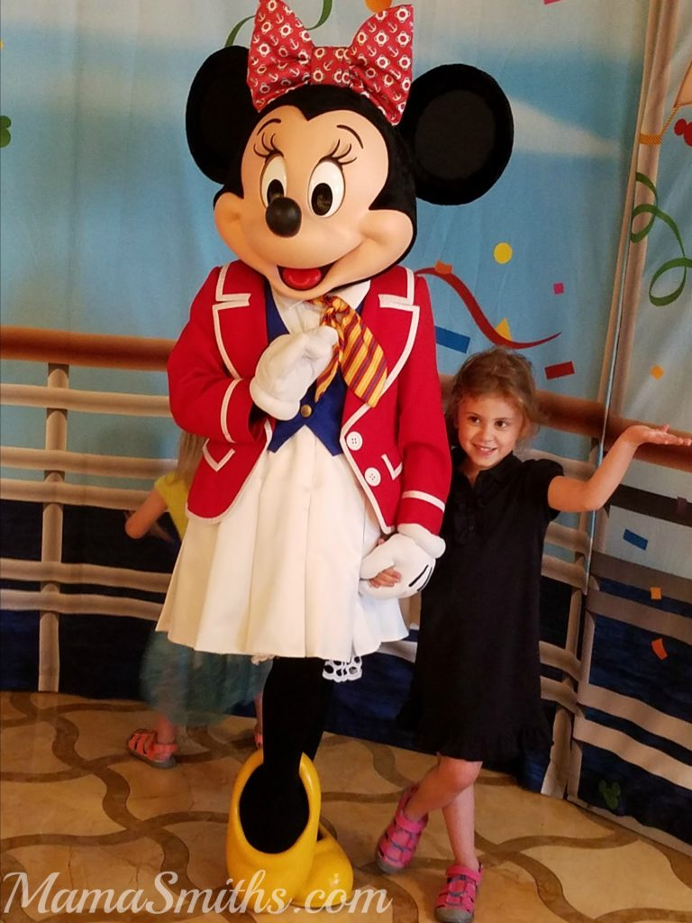 Minnie Meet and Greet Disney Cruise