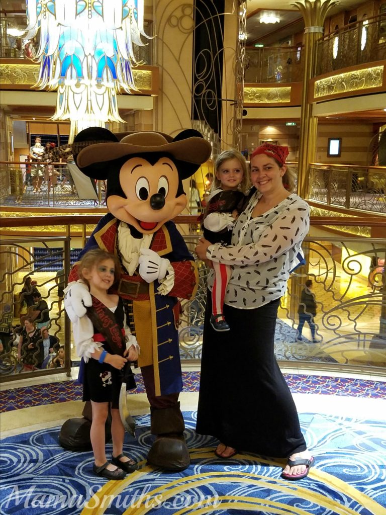 Pirate Mickey Mouse Disney Cruise