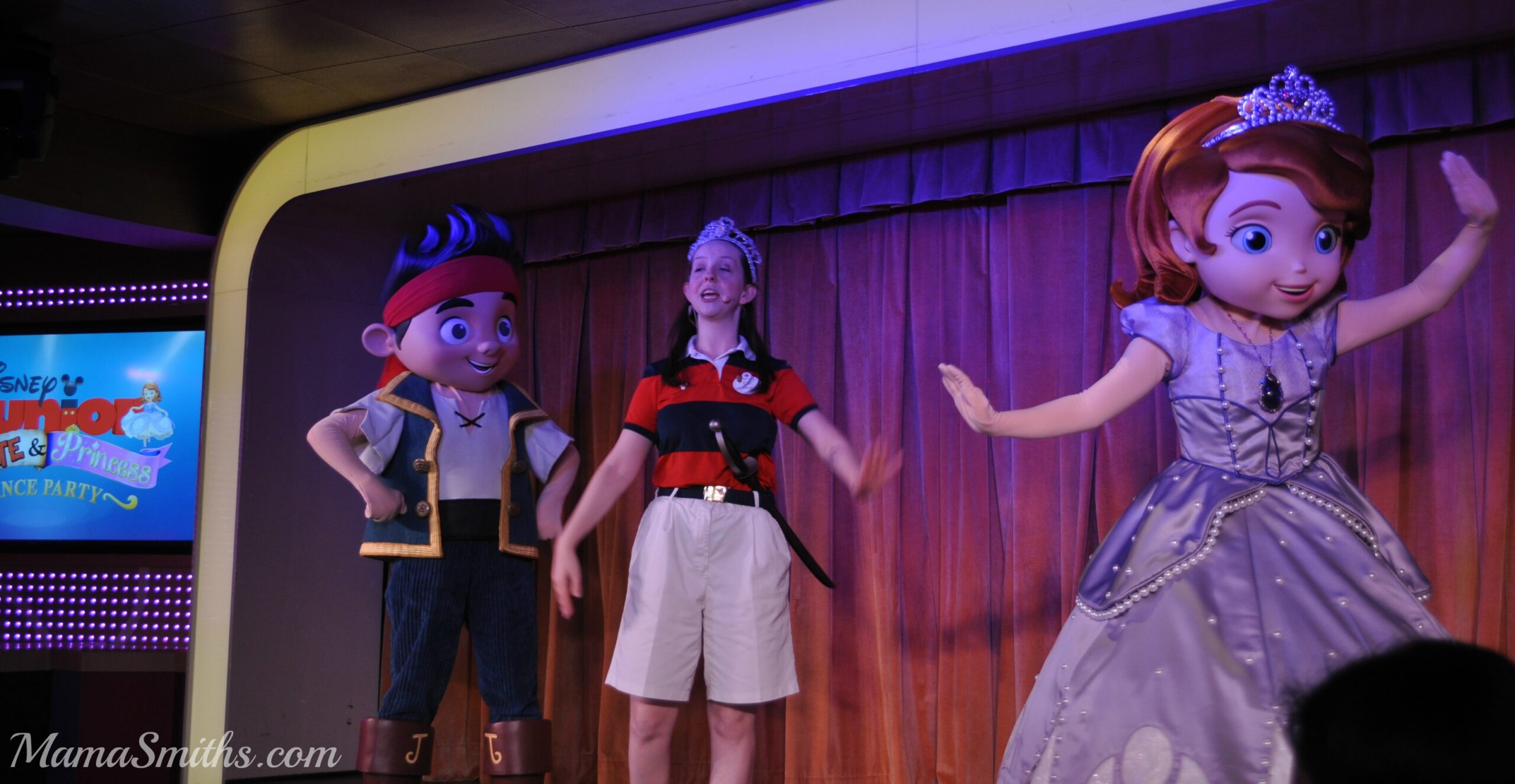Pirate Princess Party Disney Cruise