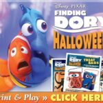 FREE Halloween Printables & Activities | #Disney #Halloween #FindingDory