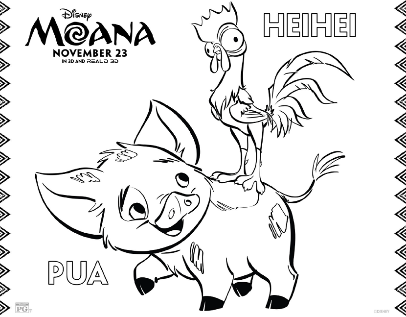 Grab Your Free Moana Coloring Sheets Activity Pages Here Moana