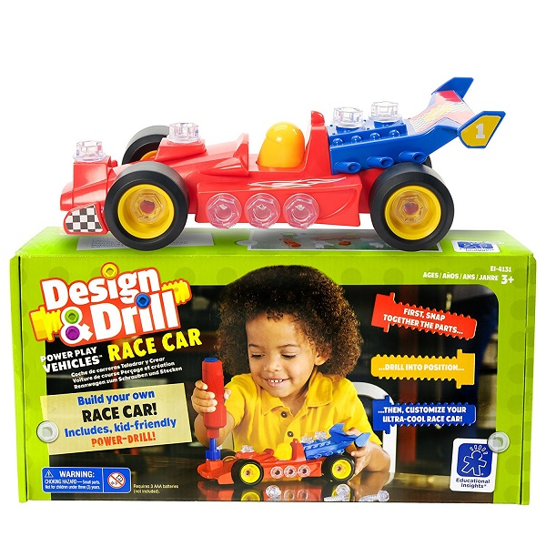 design-and-drill-race-car