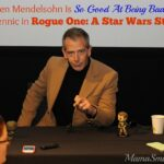 Ben Mendelsohn Is So Good At Being Bad as Krennic in Rogue One: A Star Wars Story | #RogueOneEvent