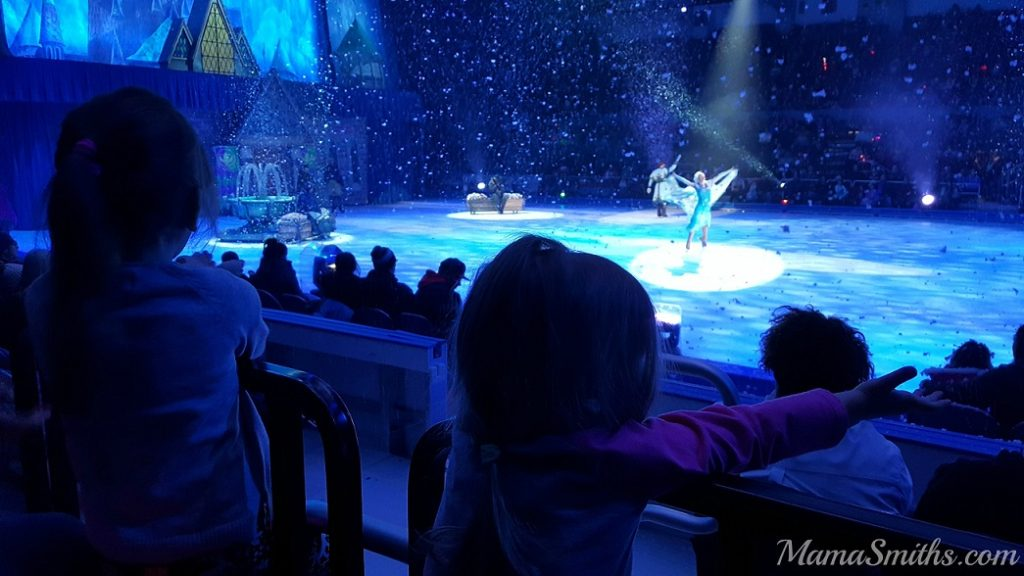 Disney on Ice Snowing