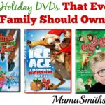 25 Holiday DVDs That Every Family Should Own | #HolidayMovie #GiftIdeas